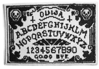 Okitani ouija iron on patch.