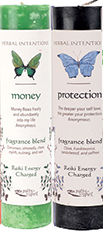 Herbal Intentions Protection Spell candle
