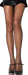 Leg Ave. black spandex industrial net tights