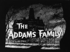 Addams Family unisex black t-shirtrt