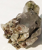 Epidote 1 1/2 inch crystal cluster