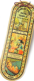 Song of India India Temple 15 gram paper envelope incense