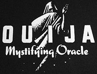 Ouija Mystifying Oracle cloth sew-on printed patch