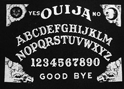 Ouija cloth sew-on printed patch