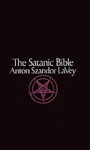 The Satanic Bible Book by Anton LaVey