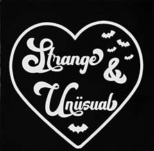 Too Fast we heart strange and unusual sew-on raw edge cloth patch