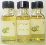 Bayou Witch oils in .5 oz bottle