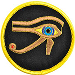 Eye of Ra iron on patch