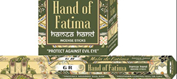 GR Green Tree Hand of Fatima incense hex pack