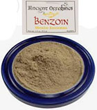 Azure Green Benzoin incense powder