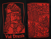 Vlad Dracula Impact mens' black/red t-shirt