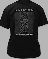 Joy Division Unknown Pleasures soundwave gothic tee