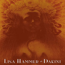 Lisa Hammer Dakini cd solo release by former Requiem in White and NCS vocalist