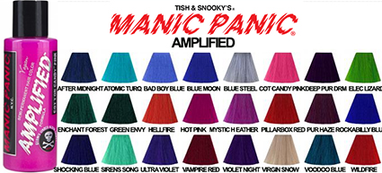 manic panic amplified cream hair dye