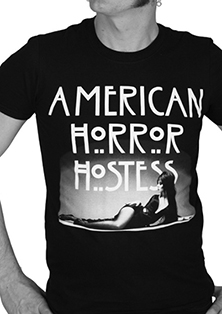 Kreepsville Black Elvira Mistress of the Dark Horror Hostess mens' black t-shirt