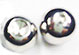 Stainless steel dimpled captive ball for 14 ga captive bead ring