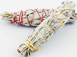 California White Sage 4 inch sage smudge stick