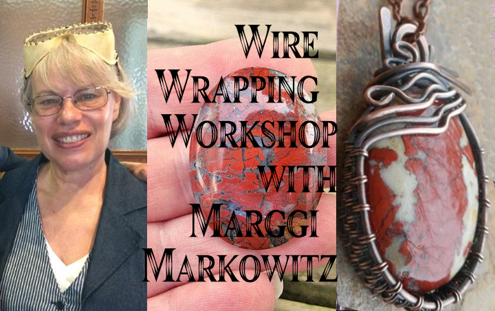 wire wrapping jewelry workshop