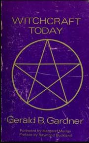 Witchcraft Today SALE book by Gerald Gardner