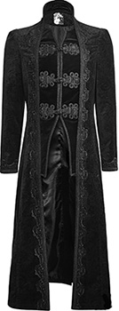 Punk Rave Targaryen mens' coat
